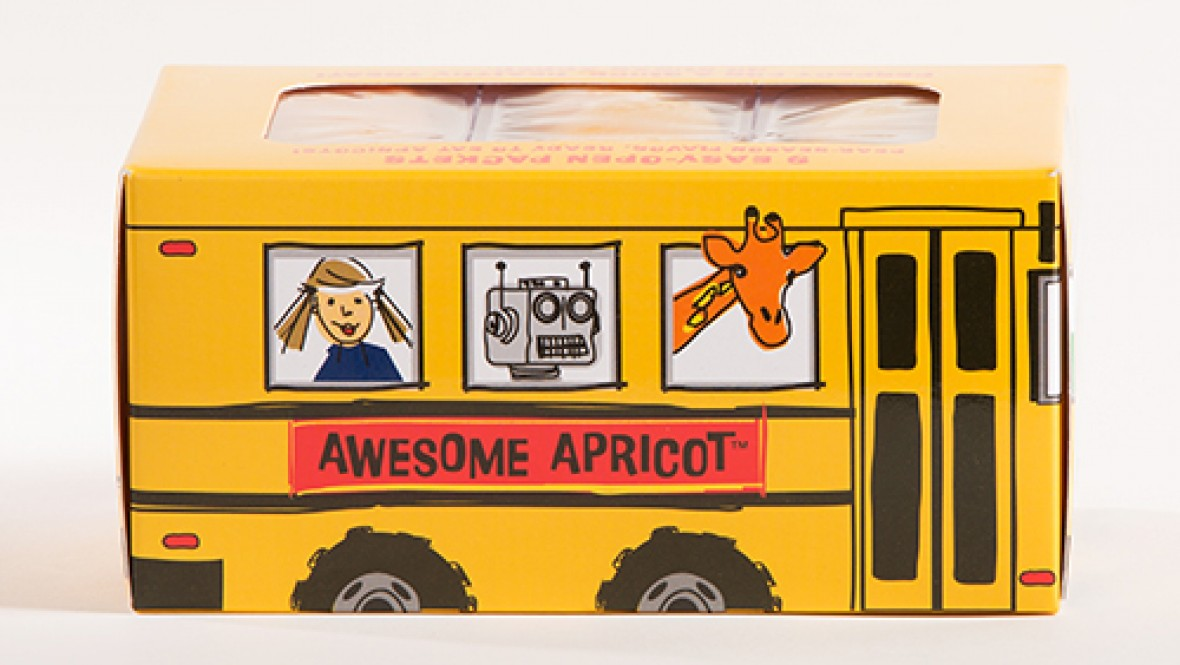 Awesome Apricot Yummy Fruit Bus™